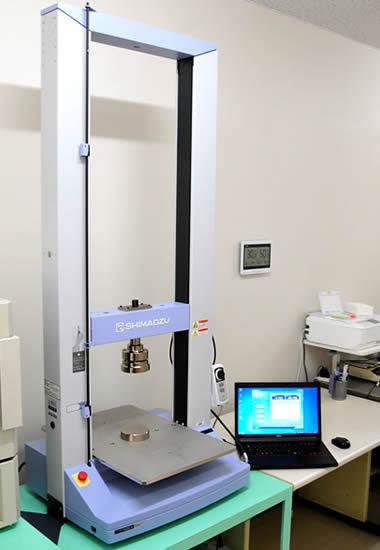 圧縮強度測定器による強度試験