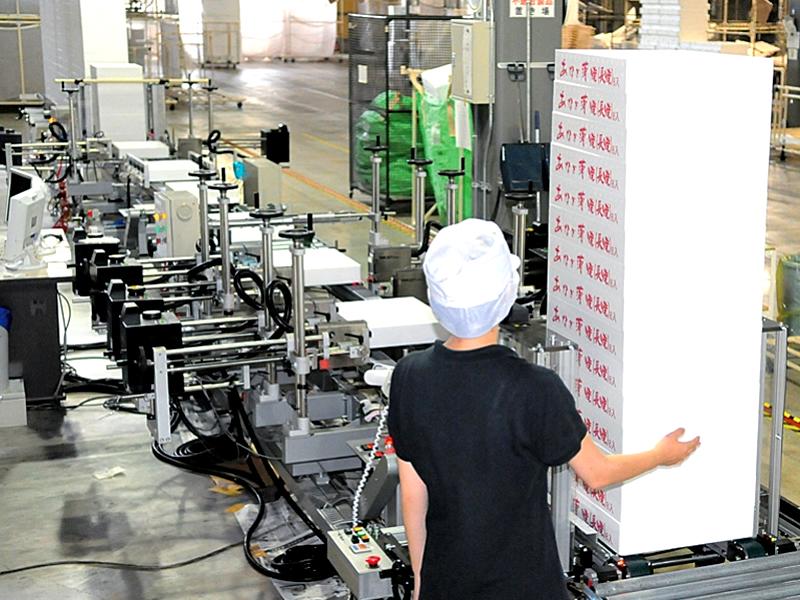 印刷工程(インクジェット印刷ライン)